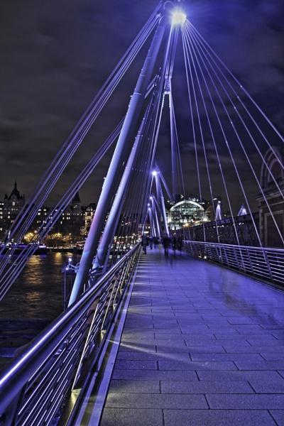 Bridge in Blue by AnthonyEB