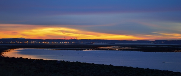 Severn Estuary Sunset