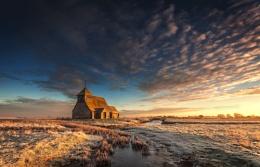 St Thomas a Becket church Fairfield, Romney  Marsh.
