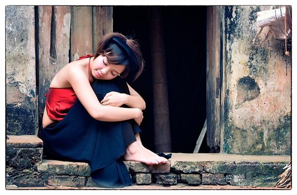 Girl on the northern VietNam by hoang_van