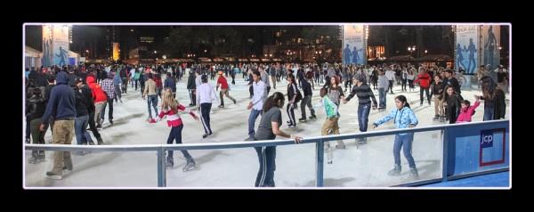 Ice Skating at Bryant Park by DicksPics