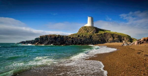Llanddwyn Lighthouse by MikeShieldsPhotography