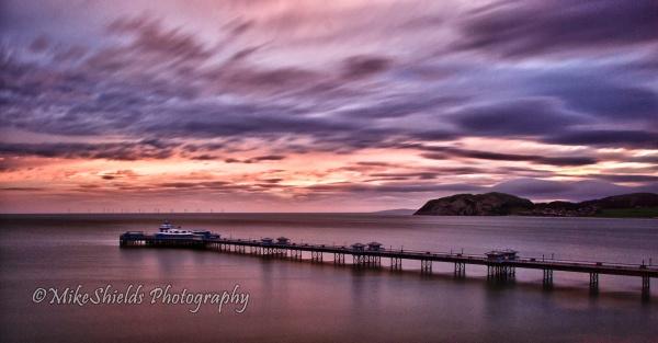 Llandudno Pier Sunrise by MikeShieldsPhotography