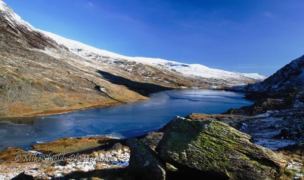 Frozen Lake by MikeShieldsPhotography