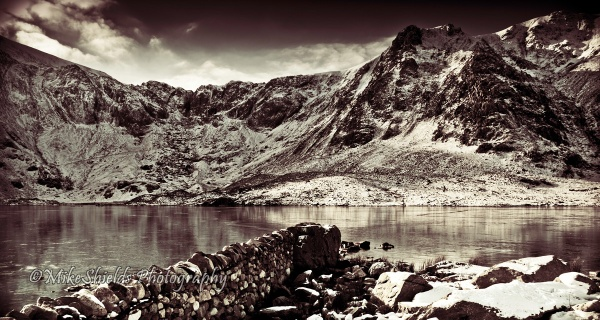 Snowy Mountains by MikeShieldsPhotography