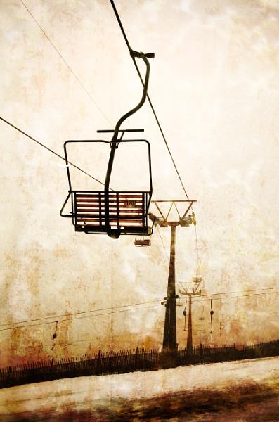 Ski Lift by funkymarmalade