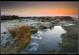 Sunrise over Ice