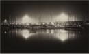 Foggy night in Ipswich