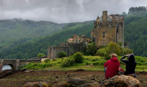 Eilean Donan Castle by retec
