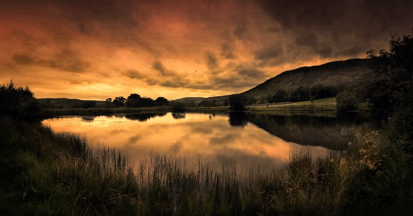 Scottish Sunsets - The Campsie Fells by paulcookphotography