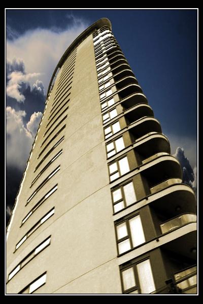 Swansea Tower Block by Bonvilston
