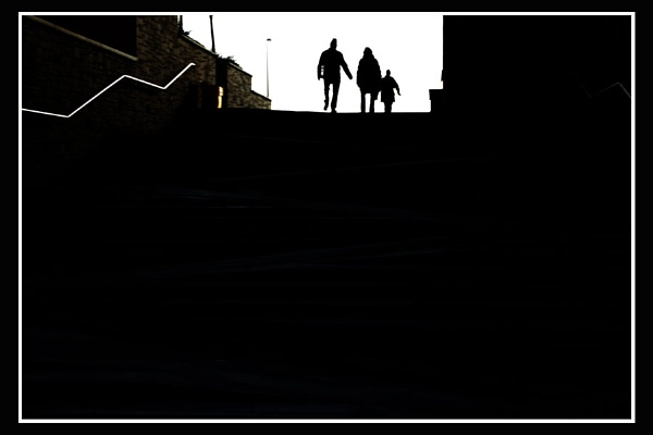 Step Silhouette by Bonvilston
