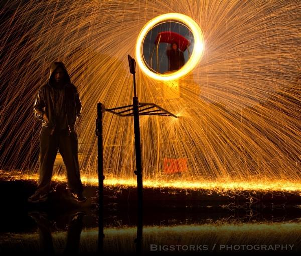Urban steelwoolphotography by bigstorks