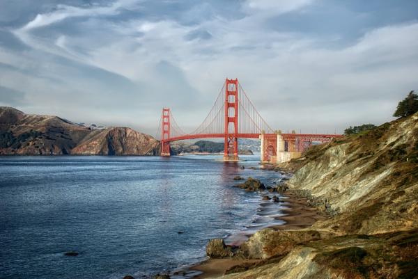 The Golden Gate Bridge, San Francisco by sylwia_sylwia