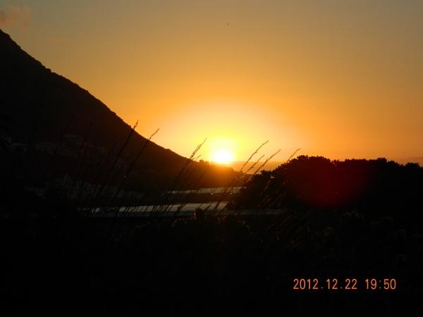 Gordons Bay Sunset by cbrunsdon