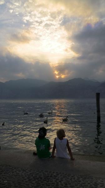 Lake Garda Sunset by Lulukirk