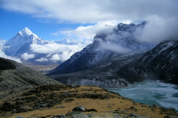 Cholaste Tso and Ama Dablam by incorrigibleh