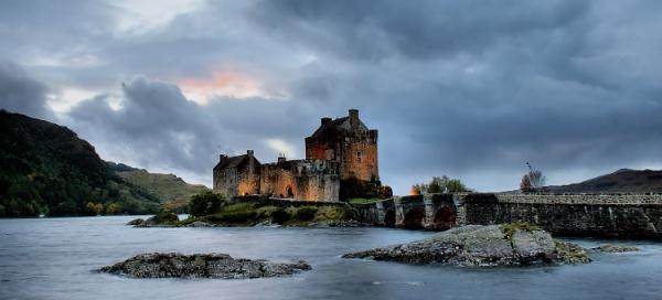 castle lights by davidcollins