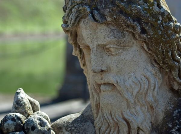 Close-up at Villa Adriana, Tivoli by navigatornick