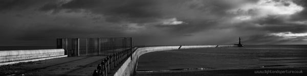 Roker Pier Panorama by PaulSwinney