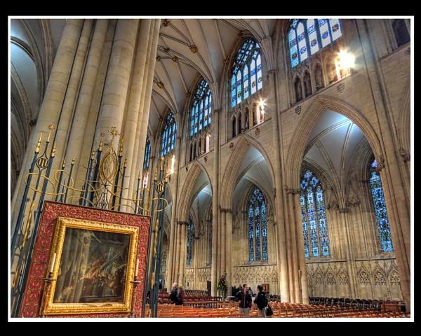 York Minster by Ian G W