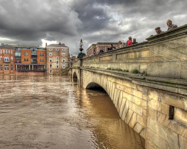 York in Flood, September 2012 by Ian G W