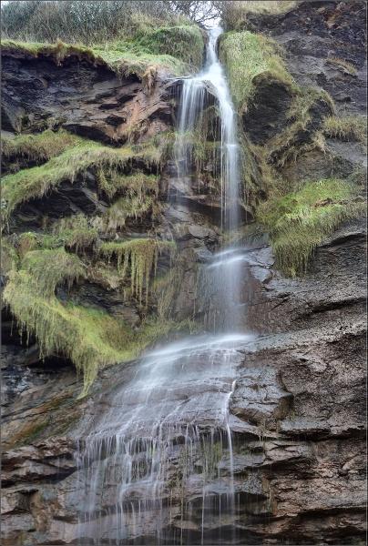 Coastal Waterfall by brianclark4