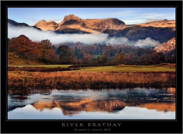 River Brathay by Tynnwrlluniau