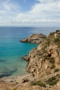 Rugged coastline on Ibiza