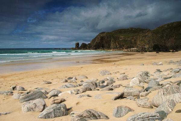 Beach at Dailmore, Isle of Lewis by sadmurph