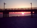 Sunset at Panama City Beach, Florida ,