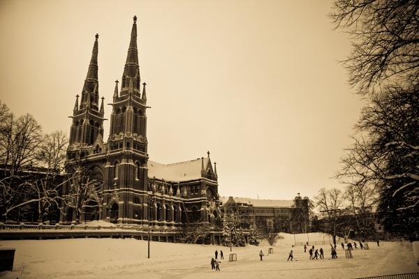 Church n\' hockey by TheKing