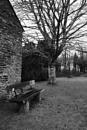Memorial Garden Bench by topsyrm