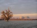 Winter sun in Bedfordshire.