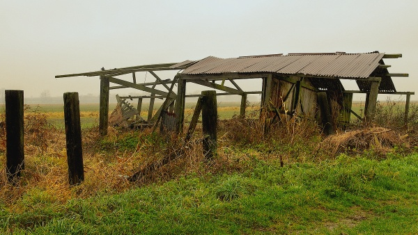 Damp, Defunct and Deserted. by Ploughman