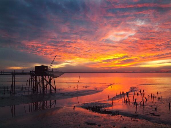 Sunset on the estuary by stepr17