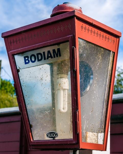 Bodiam Station Lamp by JJGEE