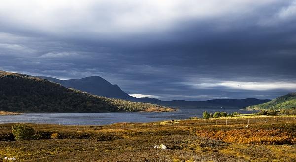 Ben Klibreck across Loch Naver - Sutherland by nirofo
