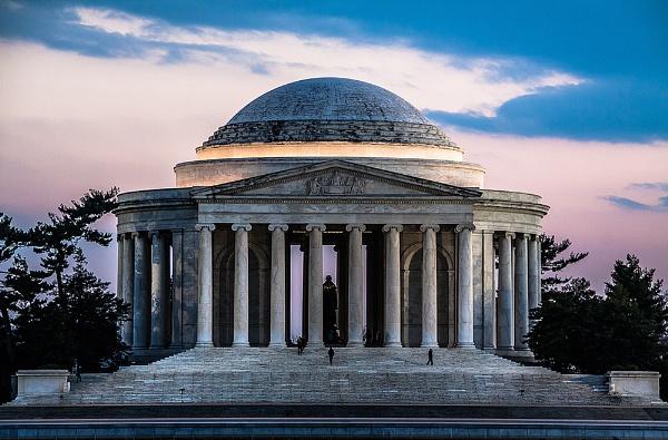 The Jefferson memorial by guitarman74uk