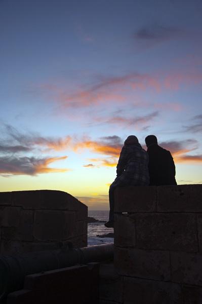 Essaouira sunset by AliceM
