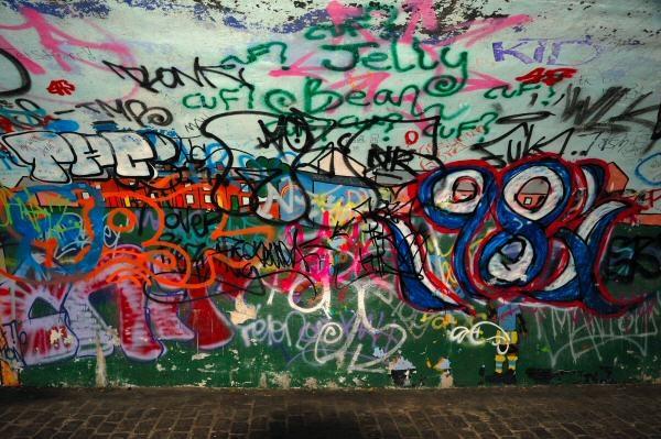 Towpath graffiti by JPatrickM