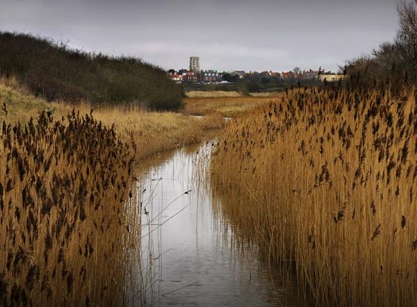 Southwold from Walberswick by TomSaetan