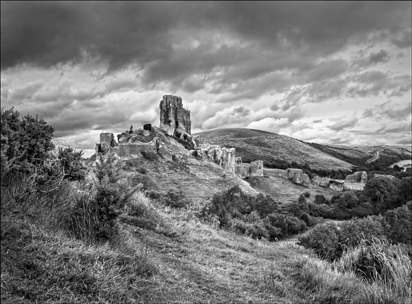 Corfe Castle by KMRennie