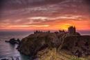 Sunrise Dunnottar Castle - Stonehaven