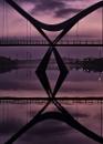 Infinity Bridge Detail Stockton on Tees