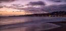 Sunrise over sleepy Swanage