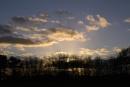 Sunset, Cudmore Grove, east Mersea, Essex