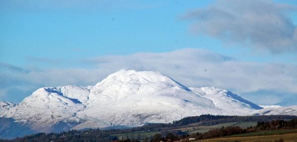 Snow capped mountain by richardCJ