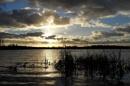 Last light at Big Waters