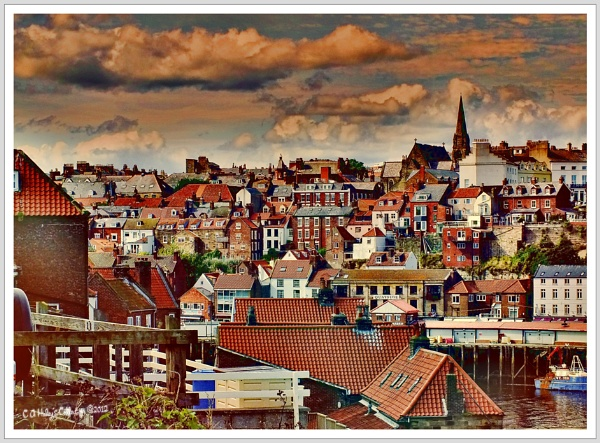 Whitby Harbour through my eyes ... or software by Humblebee
